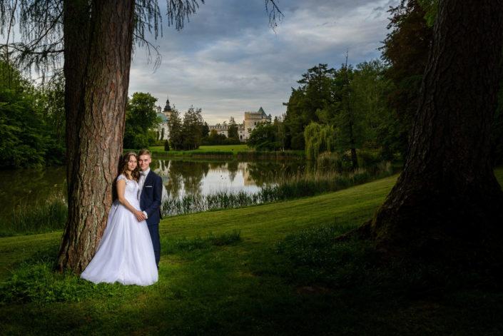 Sesja ślubna Ani i Rafała na zamku w Krasiczynie